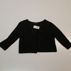 NEW European Culture Cropped 3/4 Sleeve Caridgan